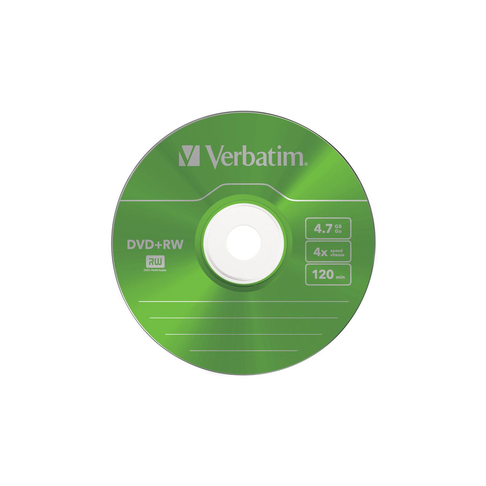 Диск DVD Verbatim 4.7Gb 4x SlimCase 5шт Color (43297) изображение 6