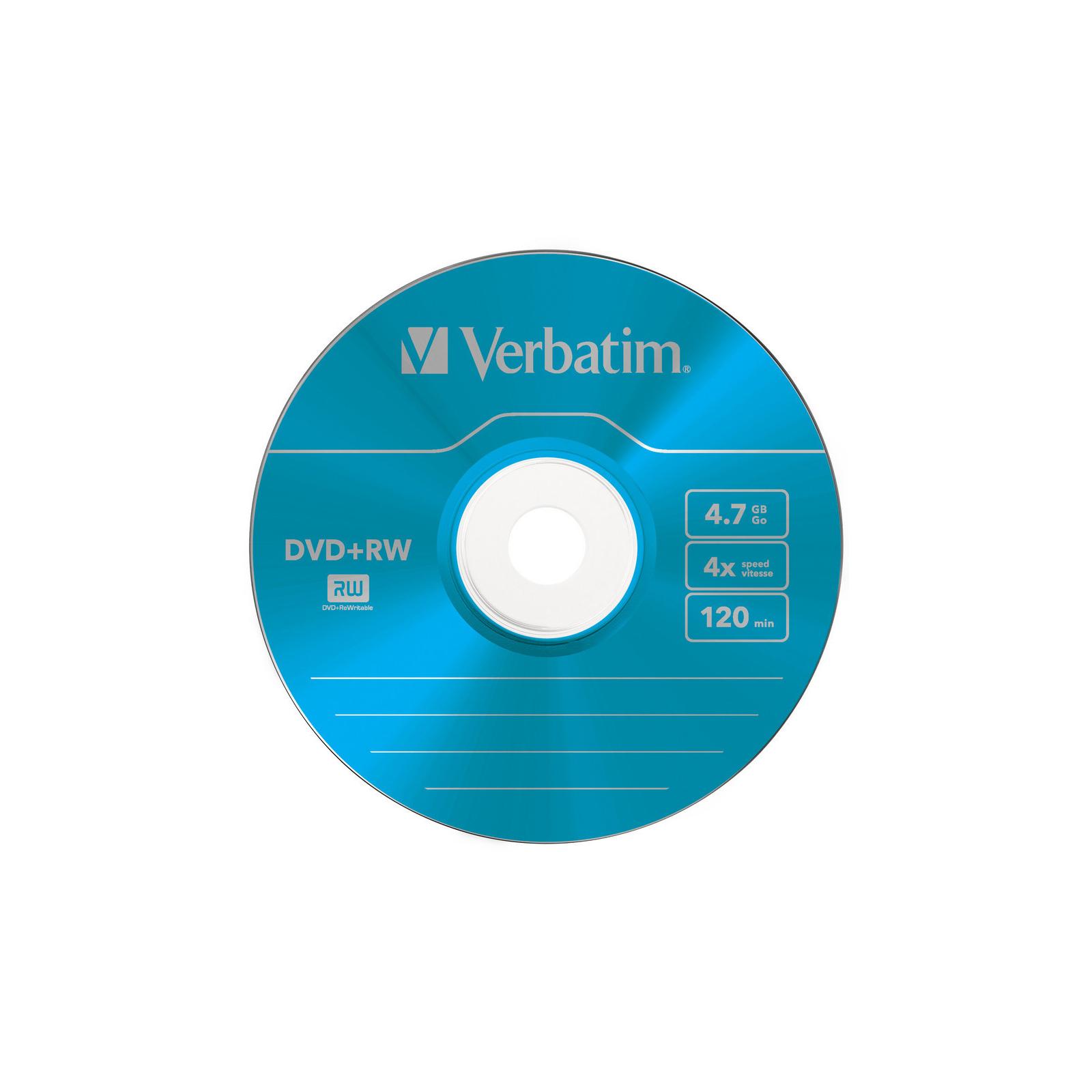 Диск DVD Verbatim 4.7Gb 4x SlimCase 5шт Color (43297) изображение 7