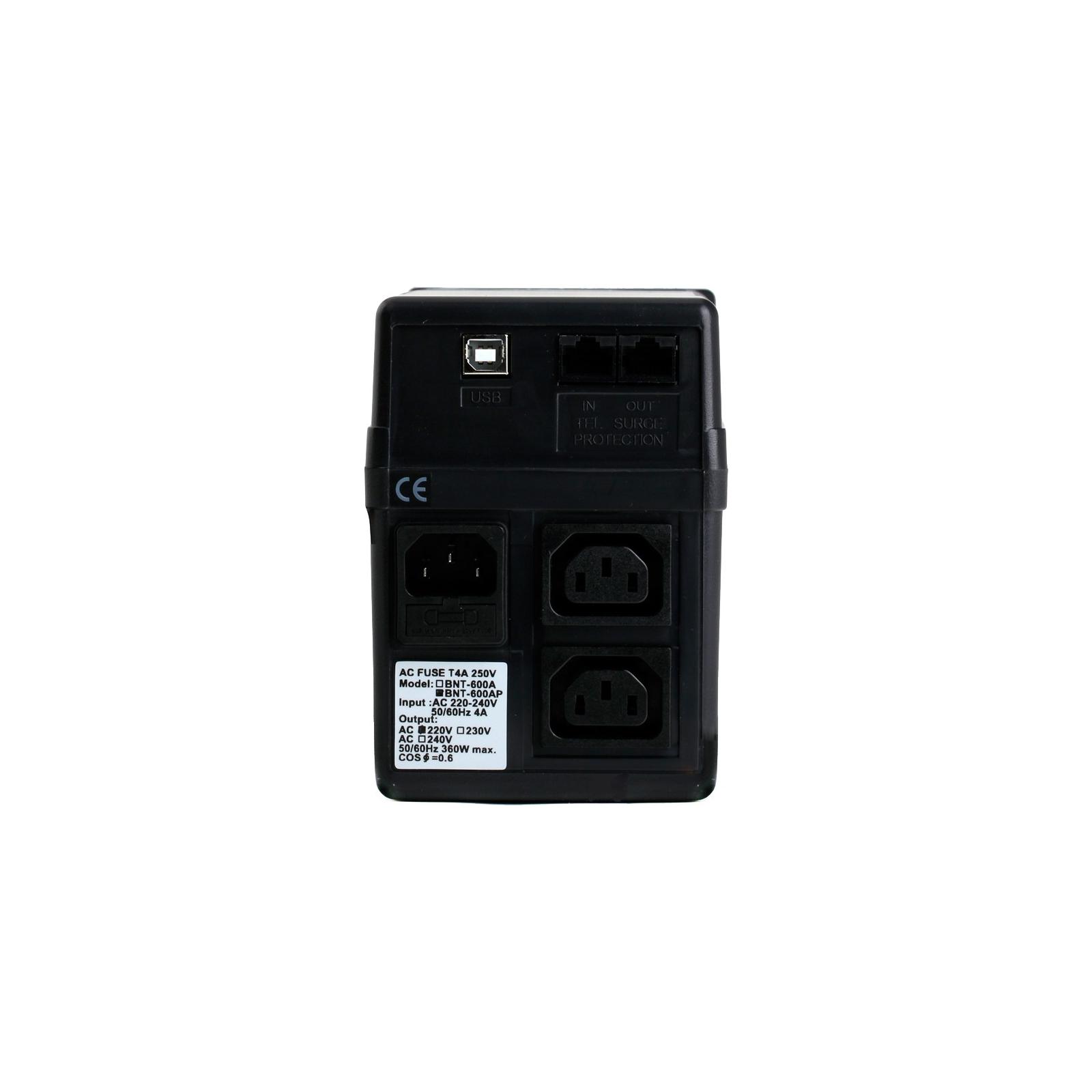 Источник бесперебойного питания BNT-600 AP, USB Powercom (BNT-600 AP USB) изображение 2