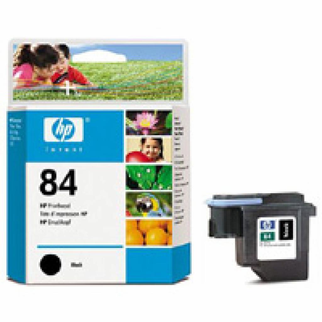 Печатающая головка HP №84 black DesignJ10/ 20/ 50/ 130 (C5019A)