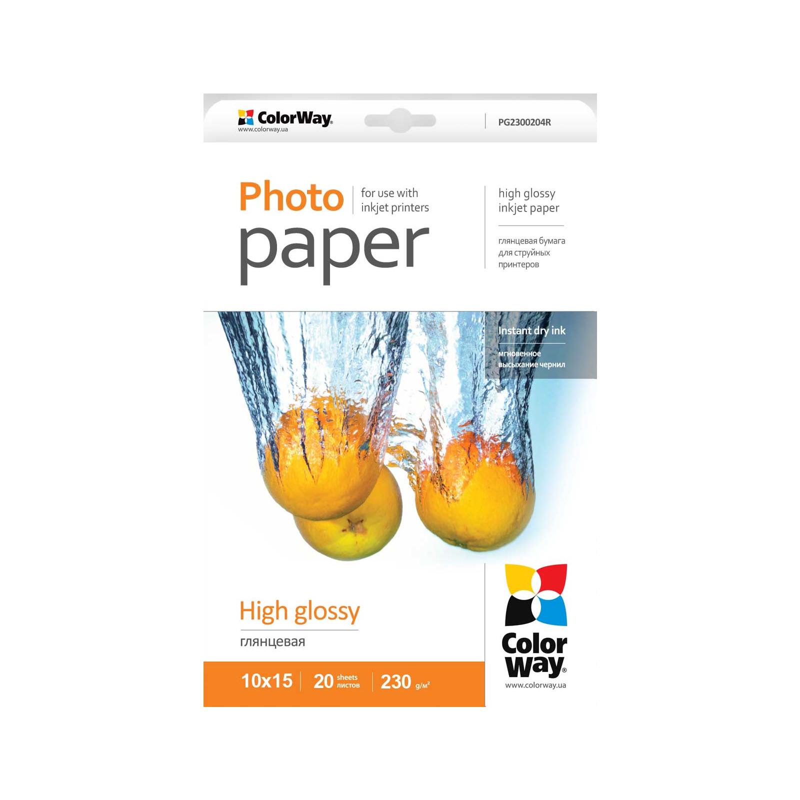 Бумага ColorWay 10x15 (PG2300204R)