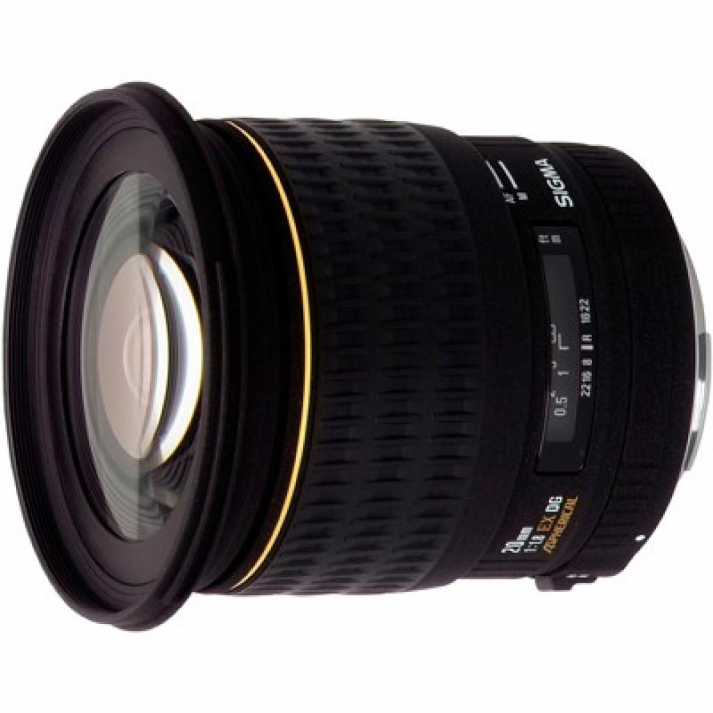 Объектив Sigma 20mm f/1.8 EX aspherical DG for Canon (411927)