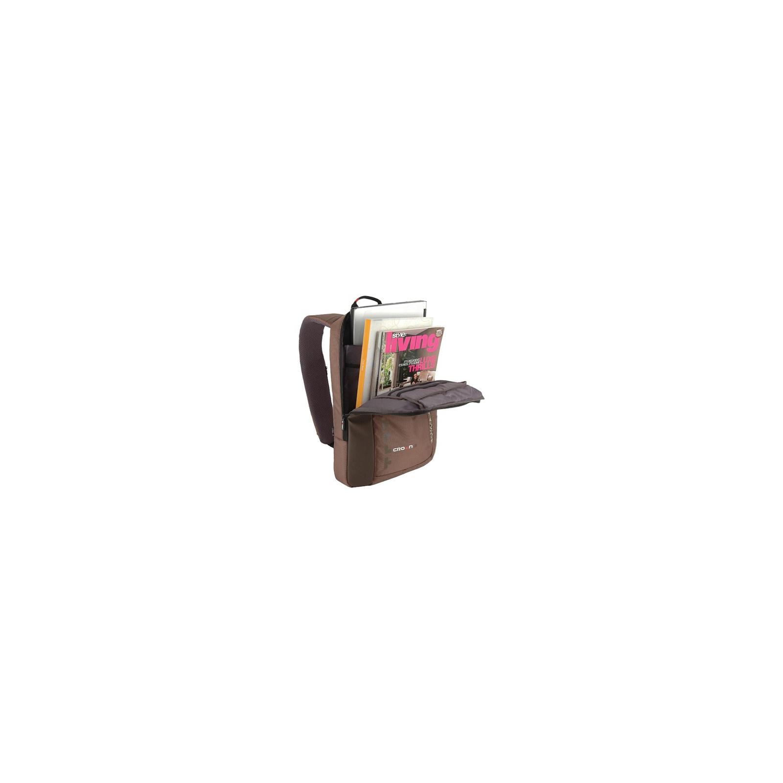 Рюкзак для ноутбука Crown 15.6 Hymn brown (BPH1115BN) изображение 2