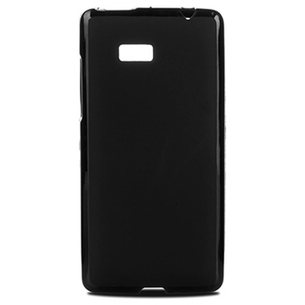 Чехол для моб. телефона Drobak для HTC Desire 600 /Elastic PU/Black (214399)
