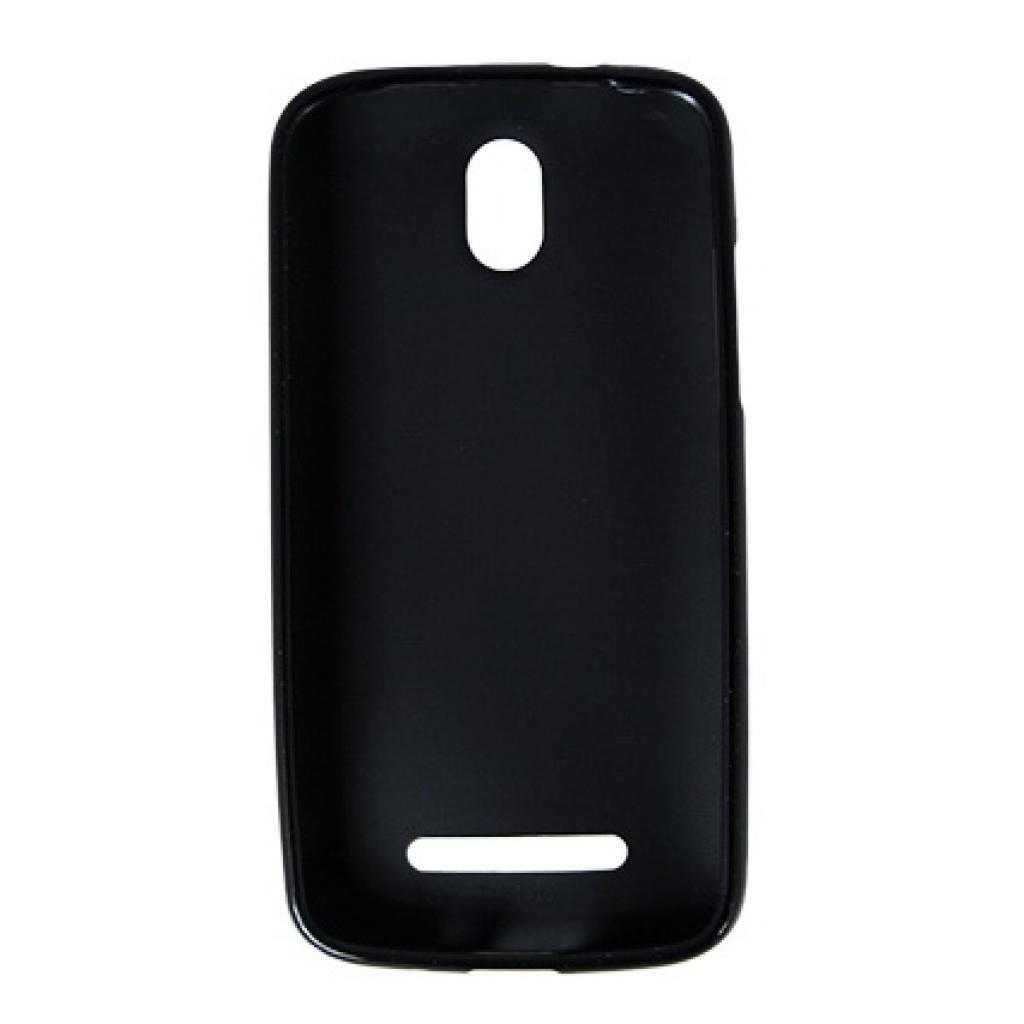 Чехол для моб. телефона Drobak для HTC Desire 500 /Elastic PU/Black (218844) изображение 2