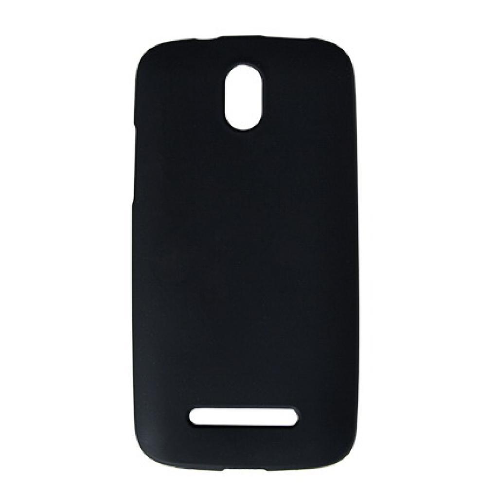 Чехол для моб. телефона Drobak для HTC Desire 500 /Elastic PU/Black (218844)