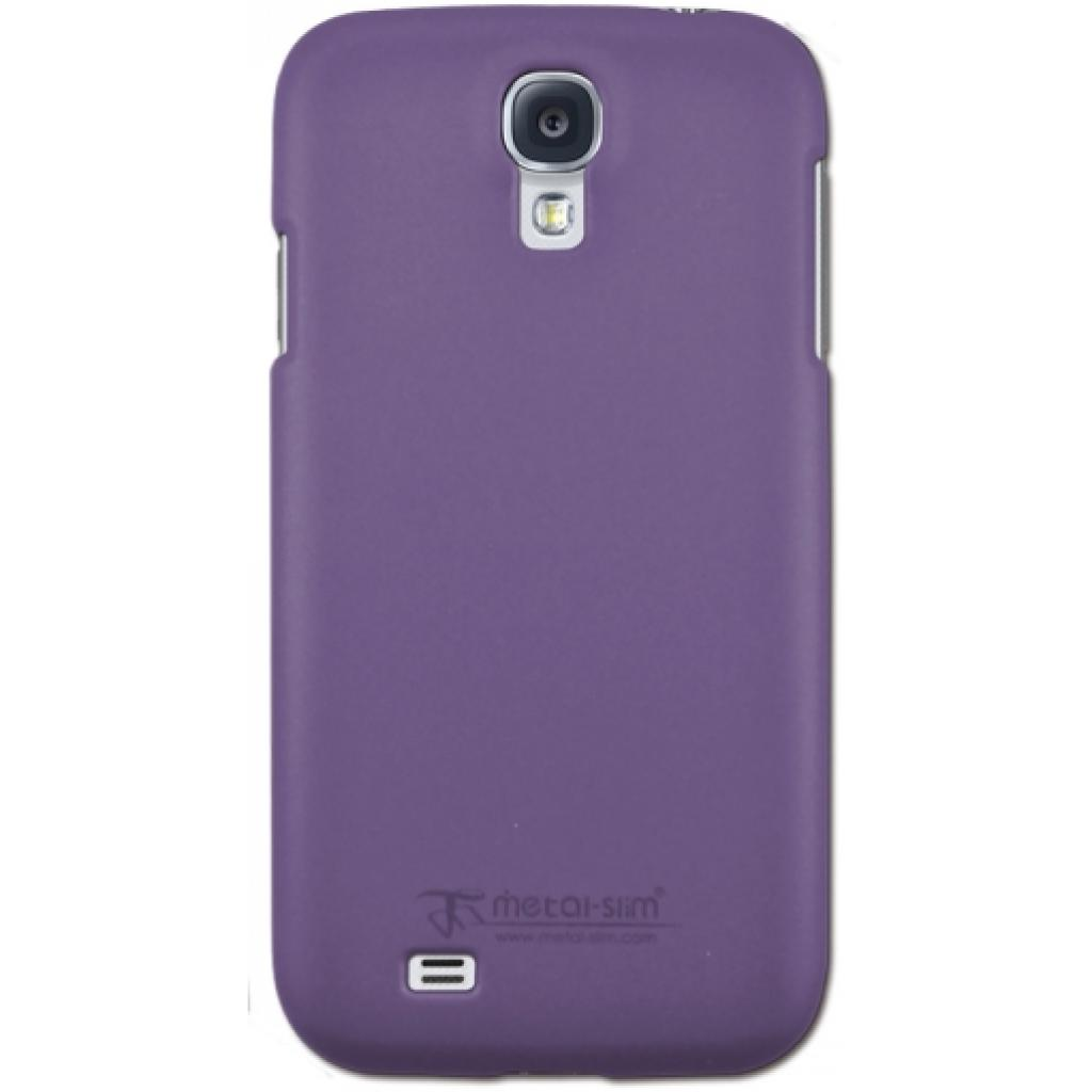Чехол для моб. телефона Metal-Slim Samsung I9500 S4 /Rubber Purple (C-K0016MR0011)