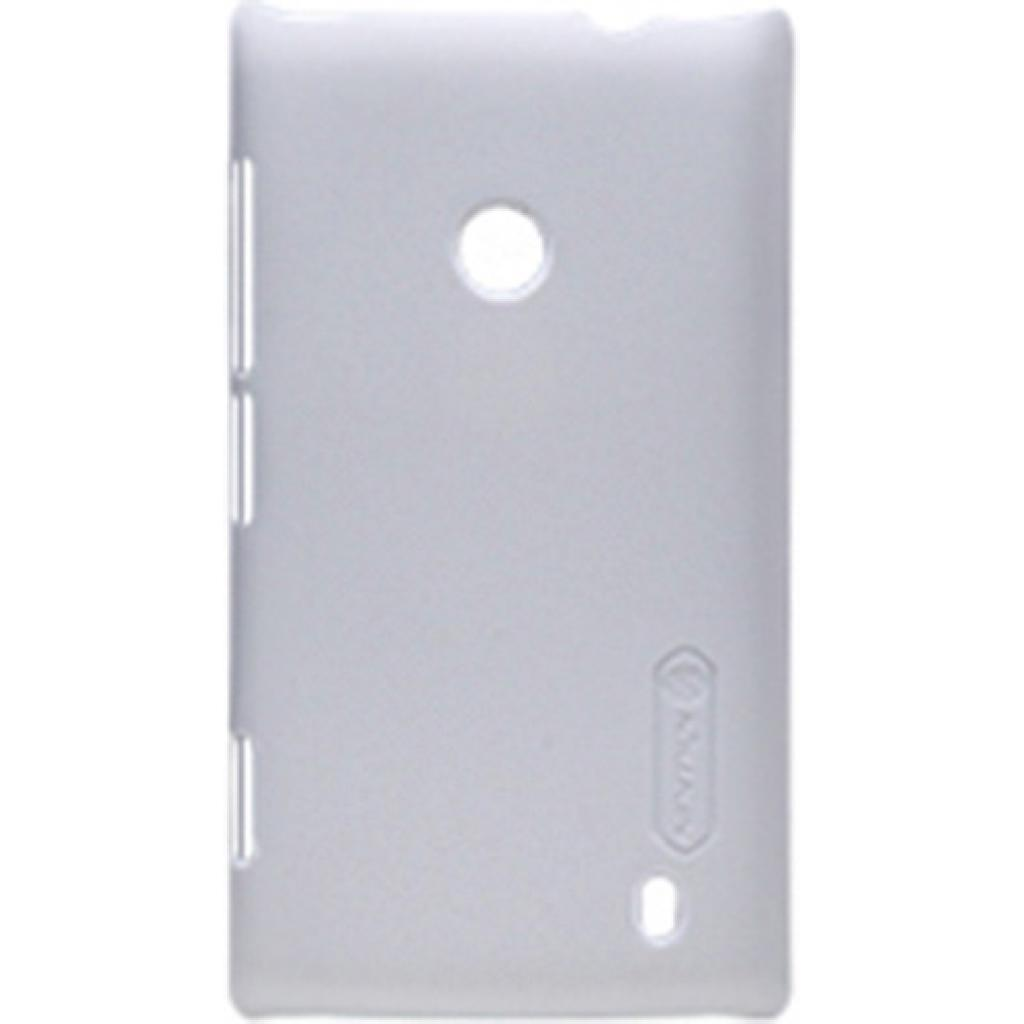 Чехол для моб. телефона NILLKIN для Nokia 520 /Super Frosted Shield/White (6065767)