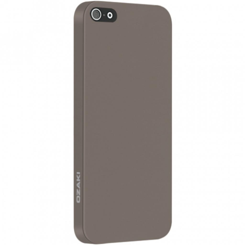 Чехол для моб. телефона OZAKI iPhone 5/5S O!coat 0.3 Solid Light Brown (OC530LB)