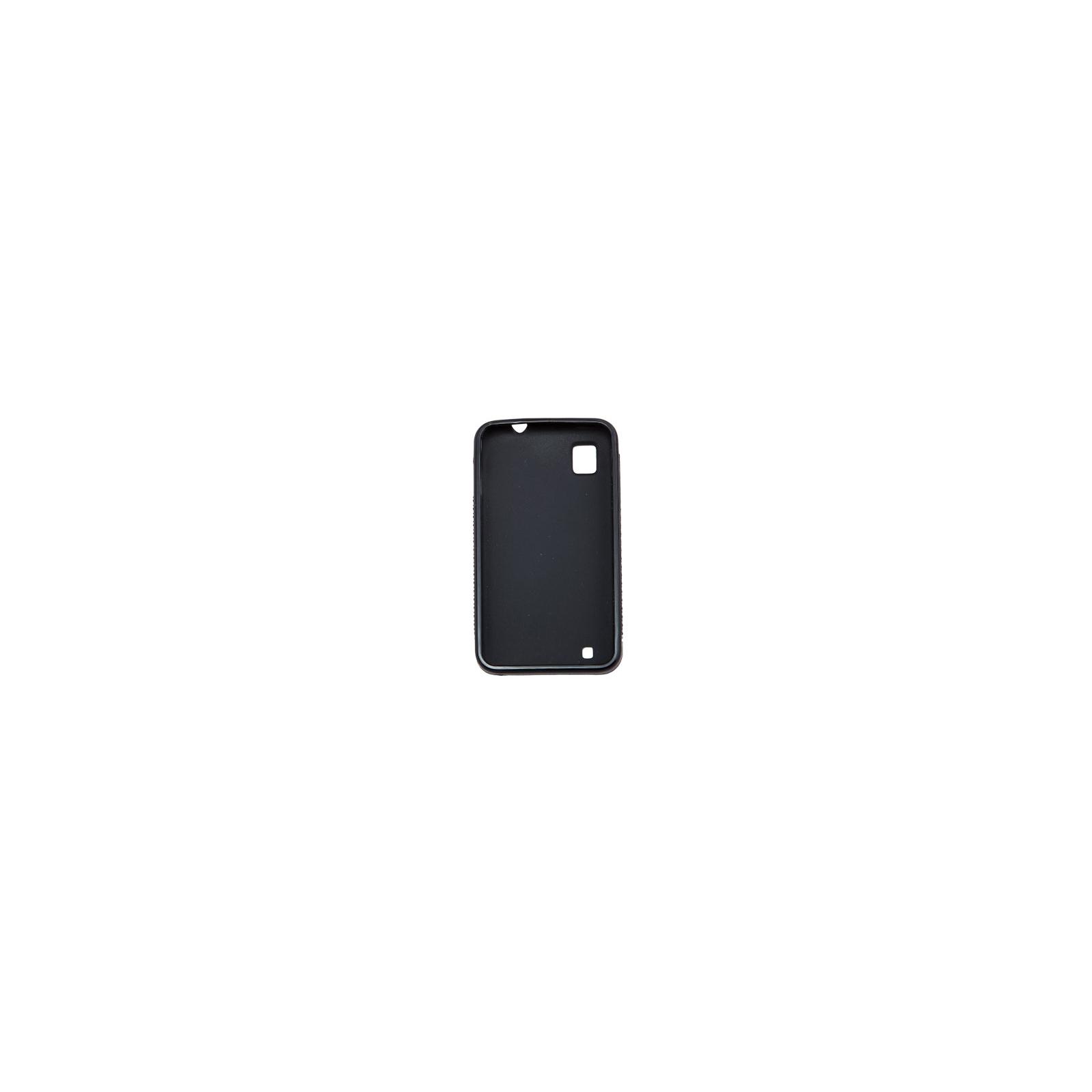 Чехол для моб. телефона для ZTE V880E (Black) Elastic PU Drobak (219020) изображение 2