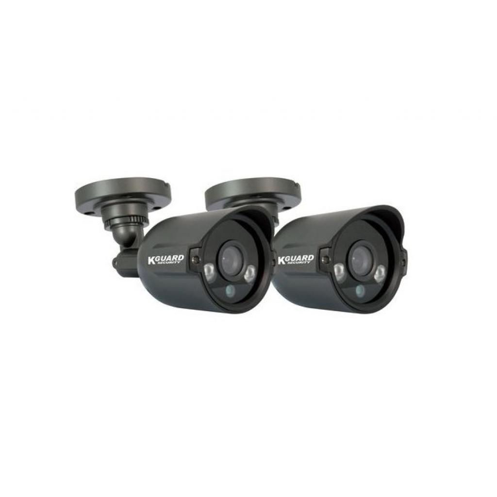 Комплект видеонаблюдения KGuard EL421-2HW212B изображение 5