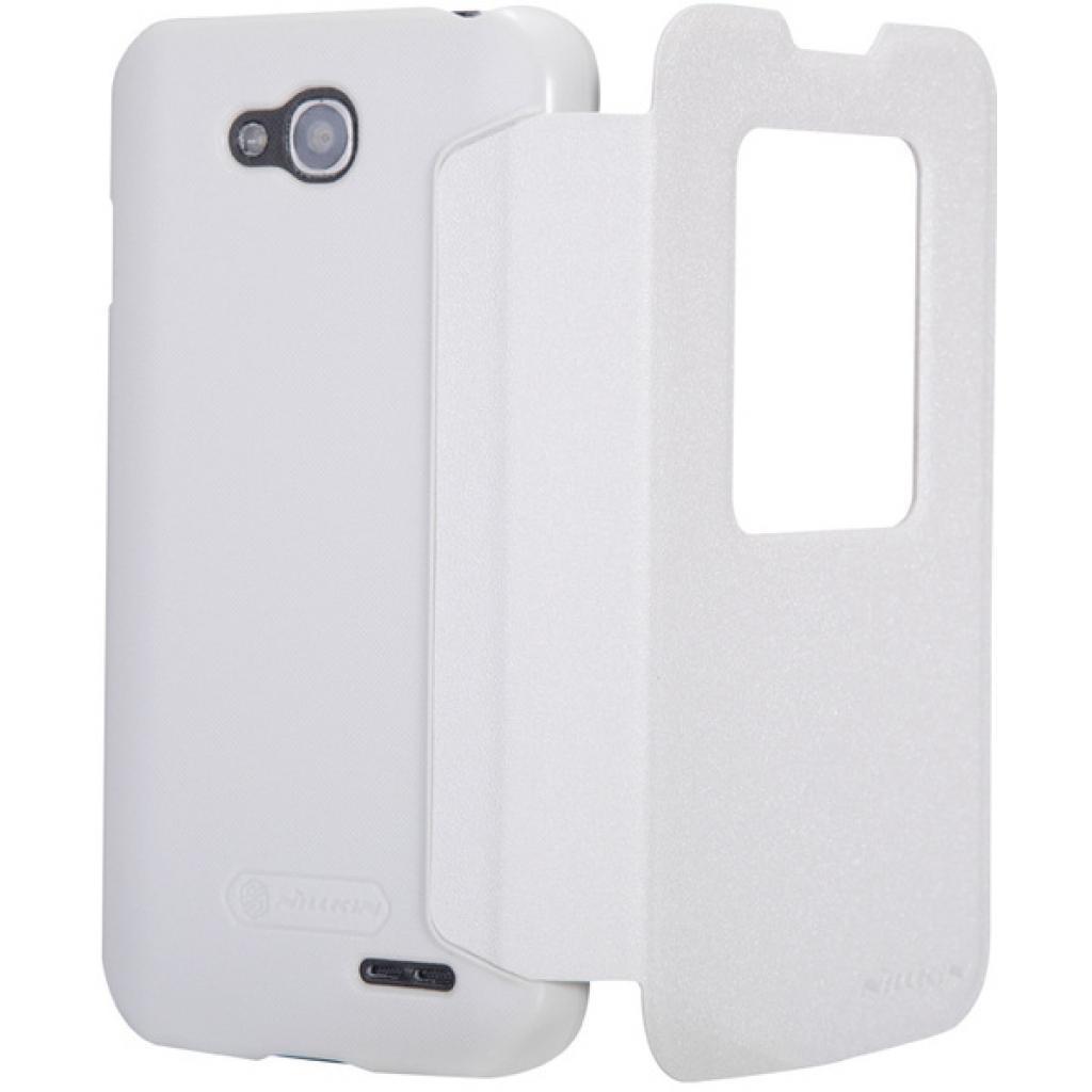 Чехол для моб. телефона NILLKIN для LG L90 Dual /Spark/ Leather/White (6154935) изображение 2