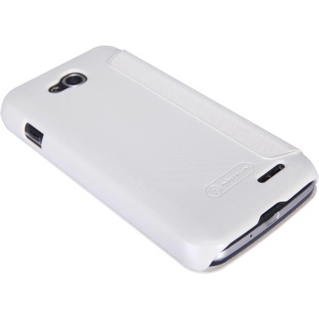Чехол для моб. телефона NILLKIN для LG L90 Dual /Spark/ Leather/White (6154935) изображение 4