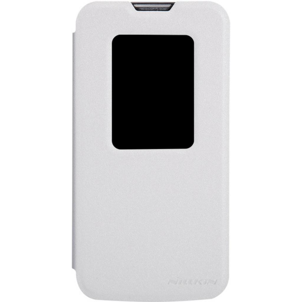 Чехол для моб. телефона NILLKIN для LG L90 Dual /Spark/ Leather/White (6154935)