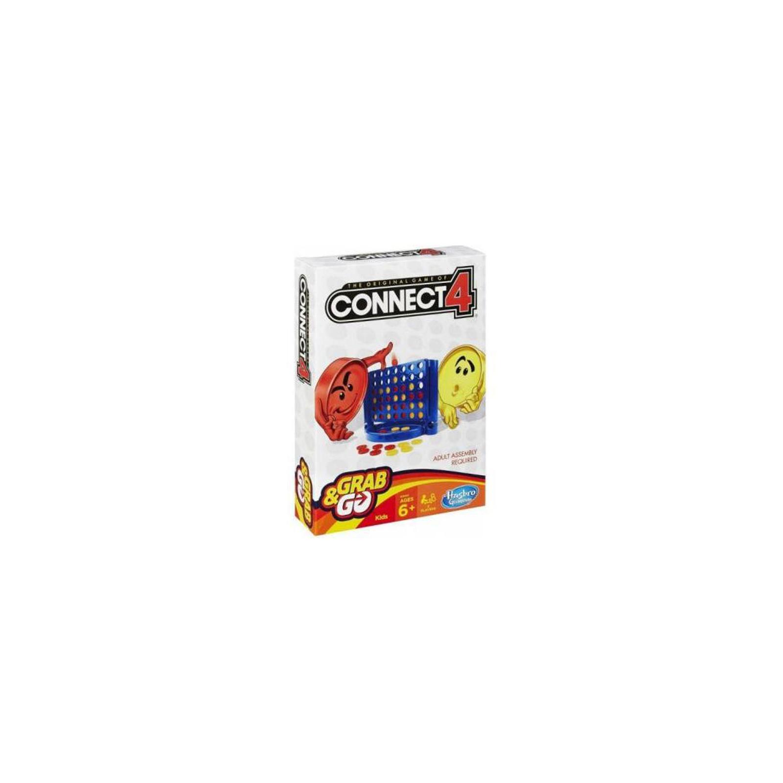 Настольная игра Hasbro Дорожная Собери 4 (B1000121)
