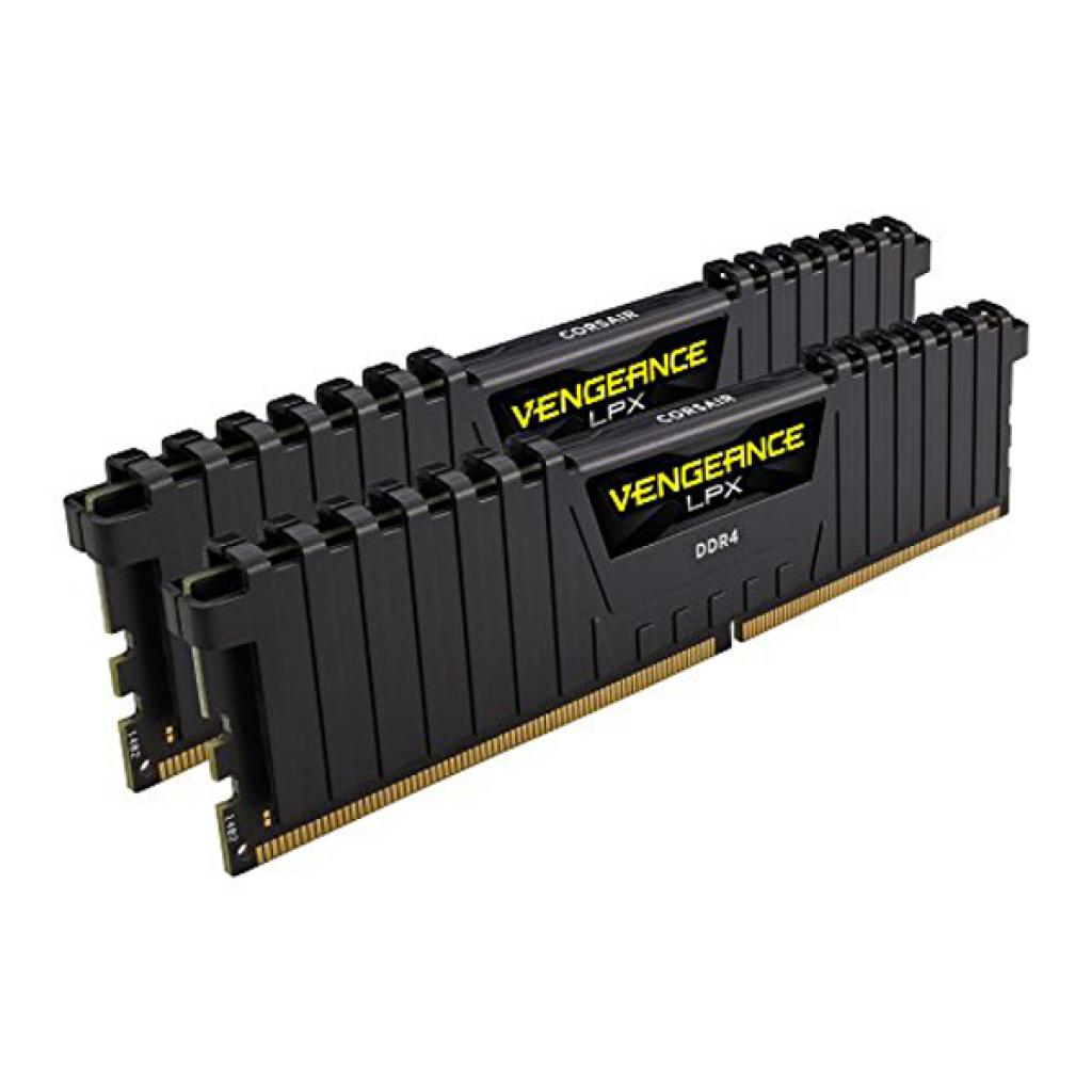 Модуль памяти для компьютера DDR4 16GB (2x8GB) 3000 MHz Vengeance LPX Black CORSAIR (CMK16GX4M2B3000C15) изображение 3