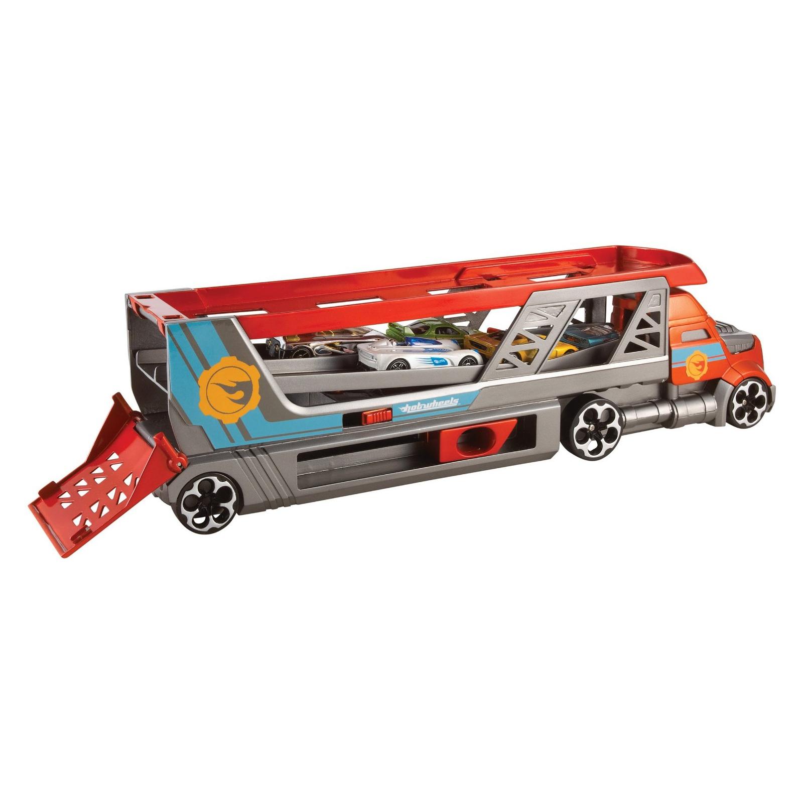 Машина Hot Wheels Грузовик-пускатель для базовых машинок (CDJ19) изображение 4