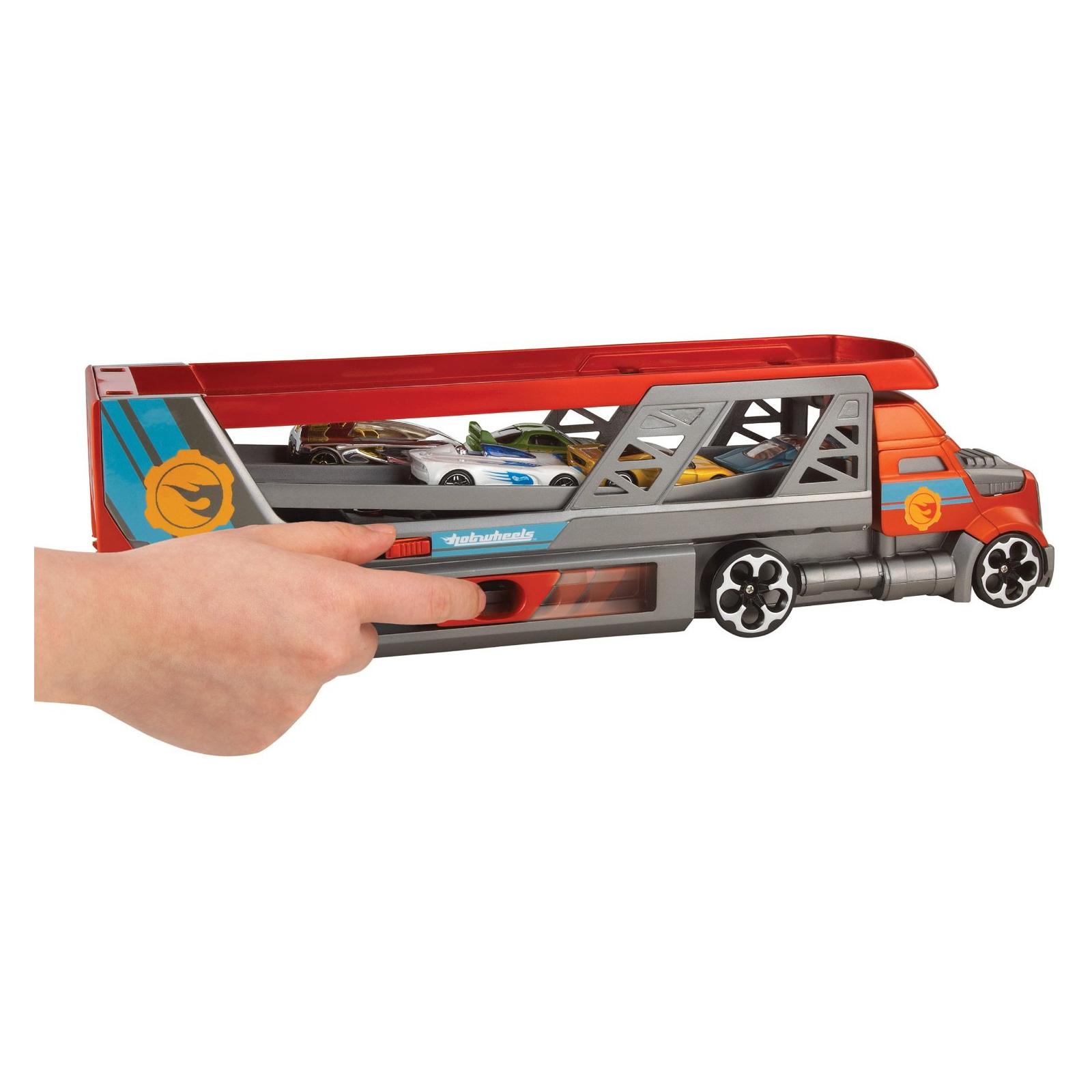 Машина Hot Wheels Грузовик-пускатель для базовых машинок (CDJ19) изображение 6