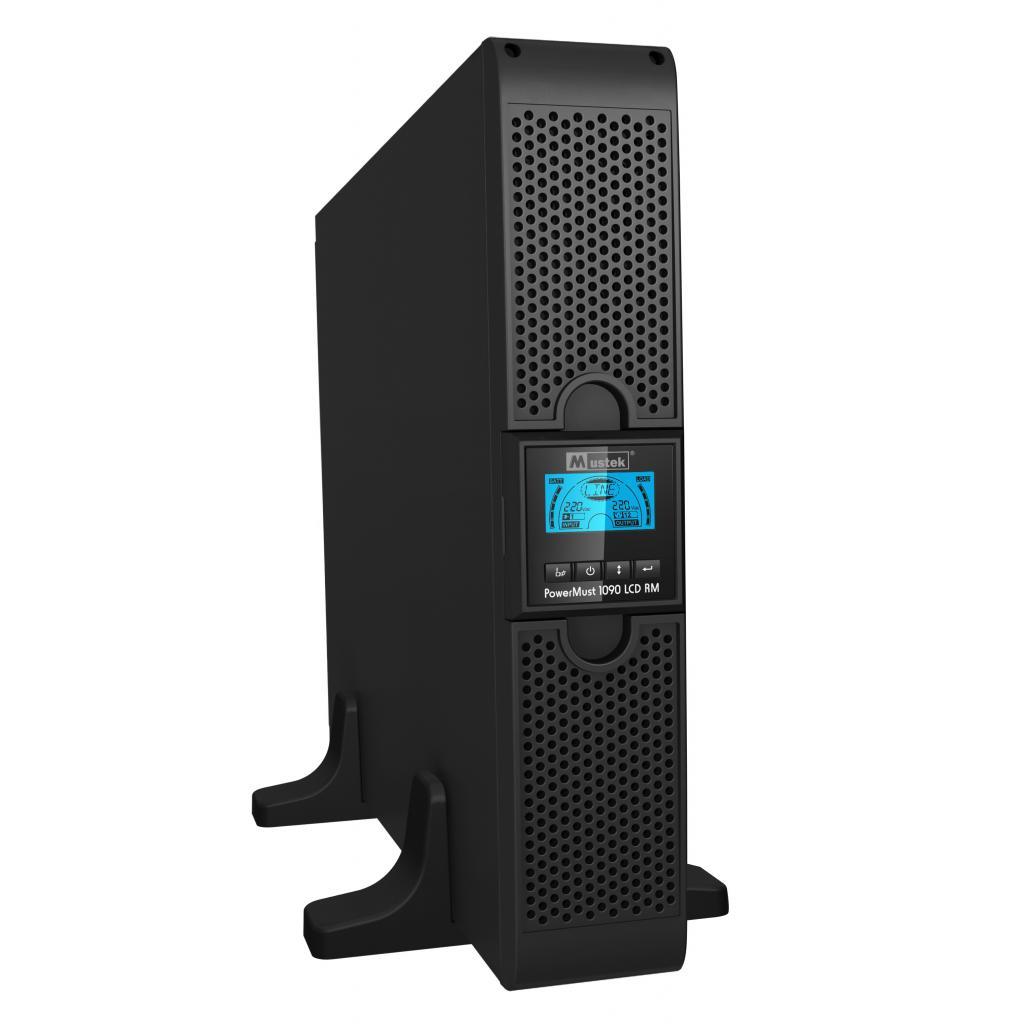 Источник бесперебойного питания Mustek PowerMust 1090 RM Online LCD (98-ONC-R1009) изображение 3