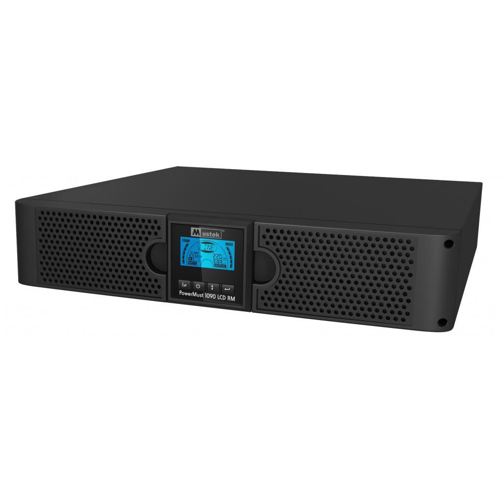 Источник бесперебойного питания Mustek PowerMust 1090 RM Online LCD (98-ONC-R1009)