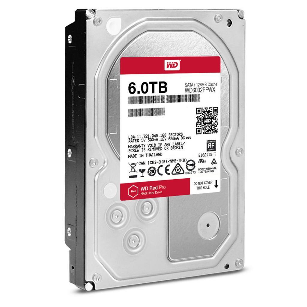"""Жесткий диск 3.5"""" 6TB Western Digital (WD6002FFWX) изображение 2"""