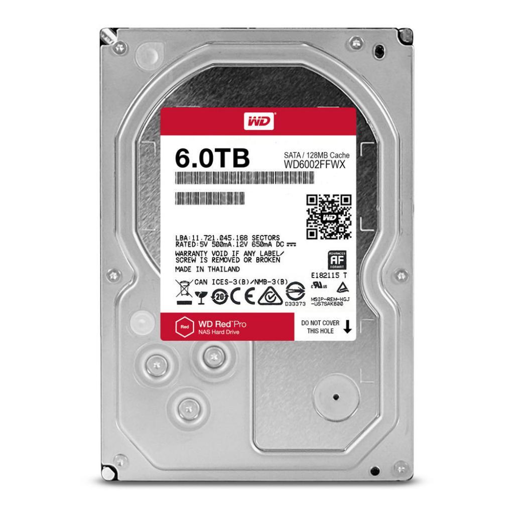 """Жесткий диск 3.5"""" 6TB Western Digital (WD6002FFWX)"""