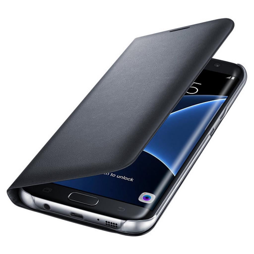 Чехол для моб. телефона Samsung Galaxy S7/Black/View (EF-NG935PBEGRU) изображение 3