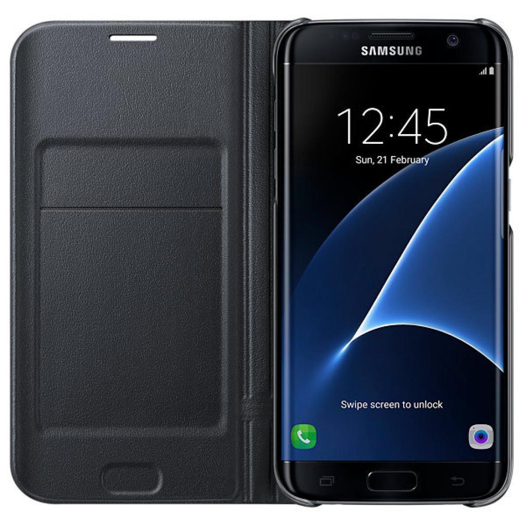 Чехол для моб. телефона Samsung Galaxy S7/Black/View (EF-NG935PBEGRU) изображение 4