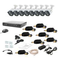 Комплект видеонаблюдения Tecsar 8OUT-3M LIGHT (9579)