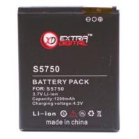 Аккумуляторная батарея EXTRADIGITAL Samsung GT-S5750 Wave (1200 mAh) (DV00DV6116)