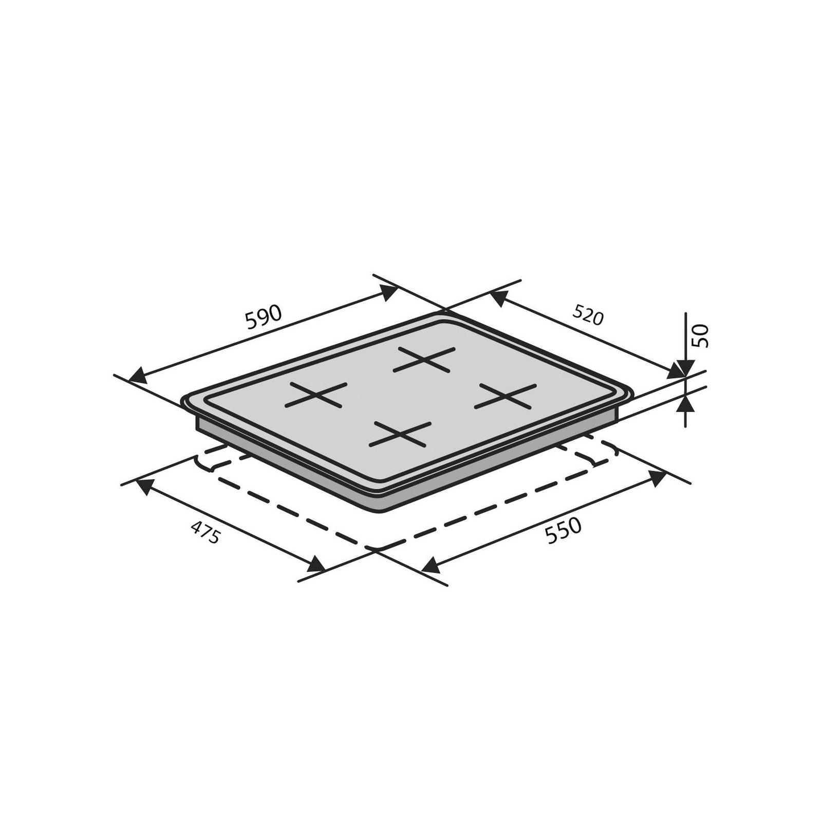 Варочная поверхность Ventolux HSF640-L3 T (IVORY) изображение 11