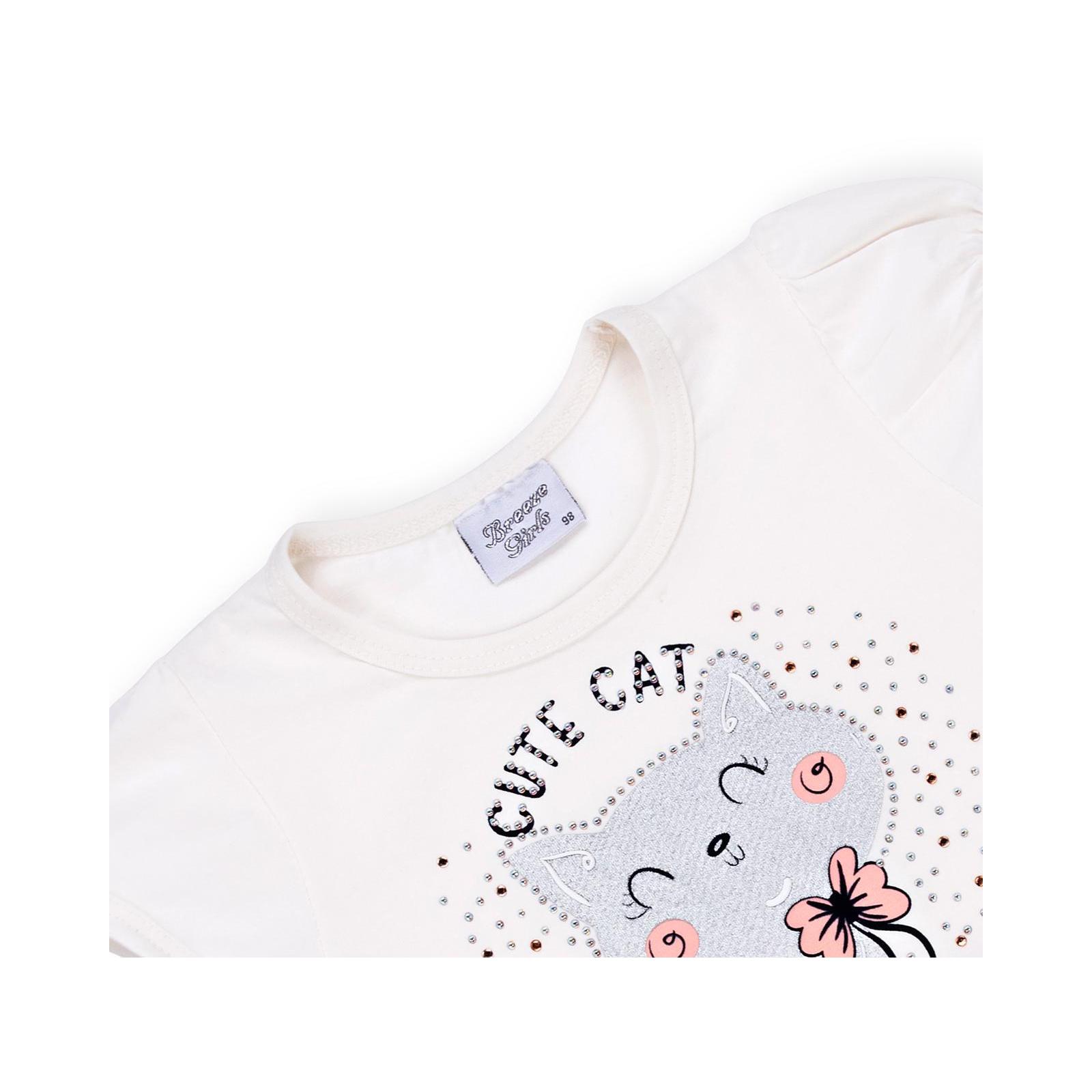 Платье Breeze с котиком (9774-104G-peach) изображение 3