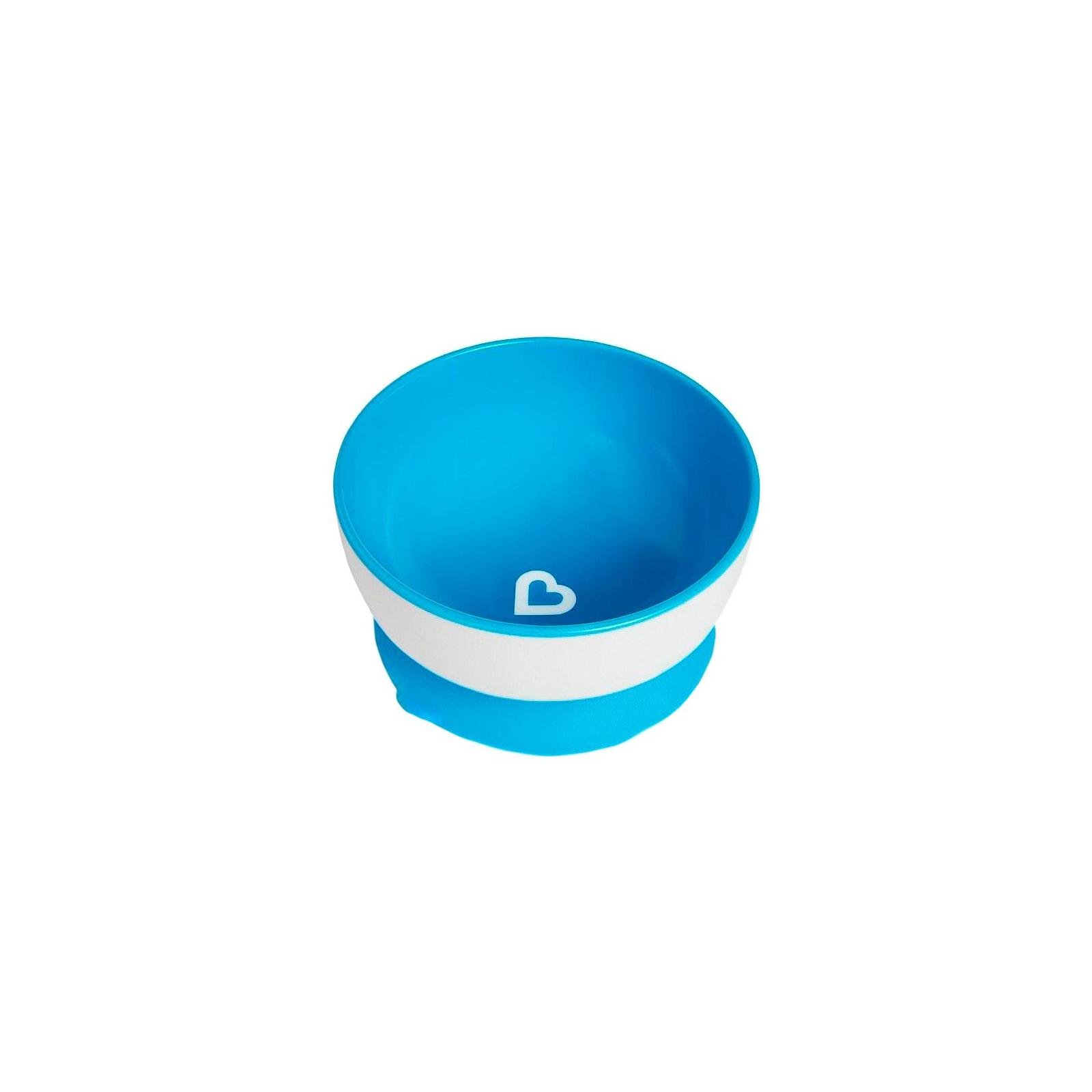 Набор детской посуды Munchkin тарелки с присосками 3 шт. (01107504) изображение 6