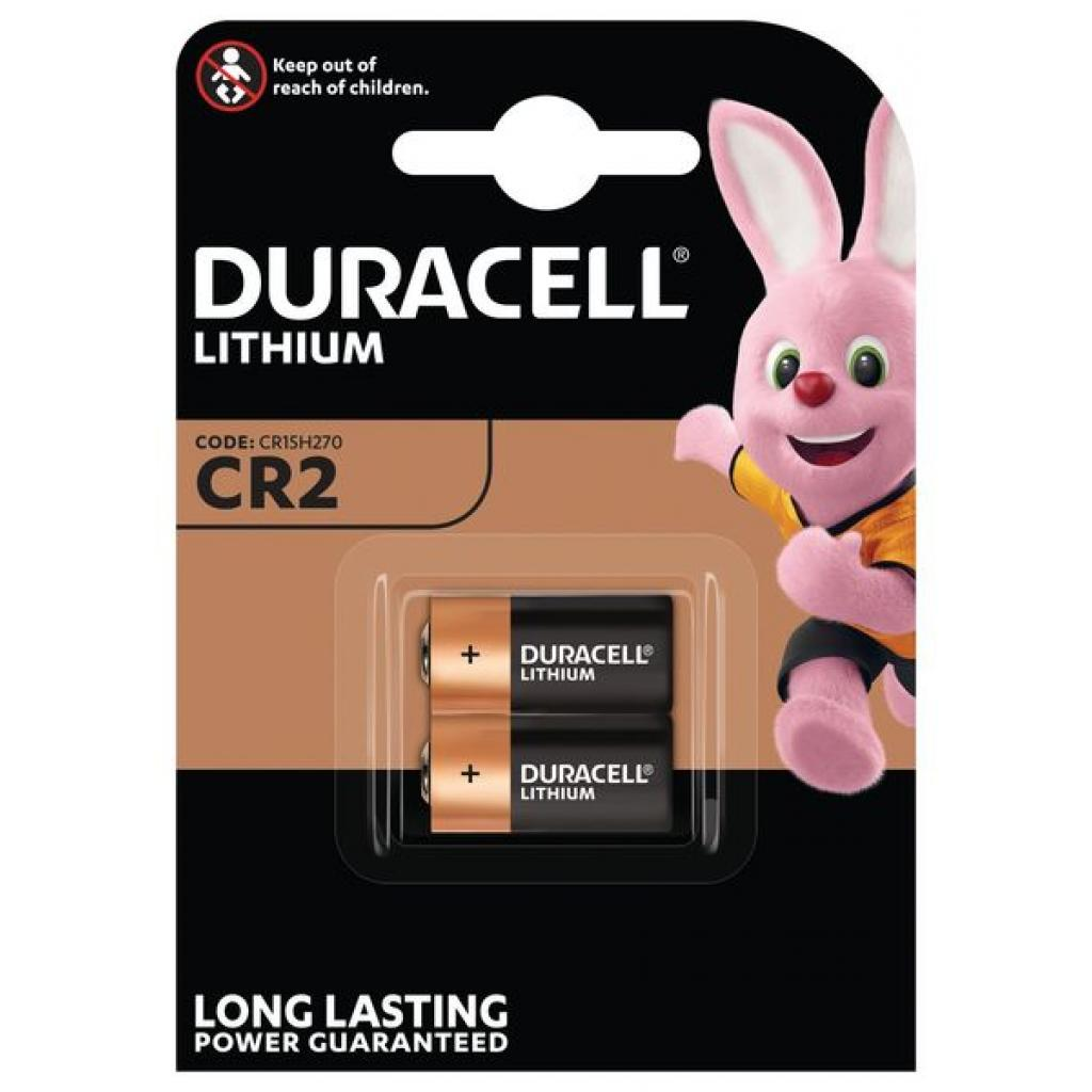 Батарейка Duracell CR2 Ultra Lithium Photo * 2 (06206301401)