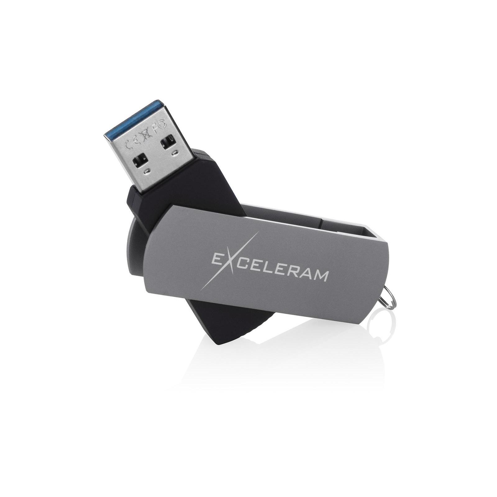 USB флеш накопитель eXceleram 128GB P2 Series Red/Black USB 3.1 Gen 1 (EXP2U3REB128) изображение 3