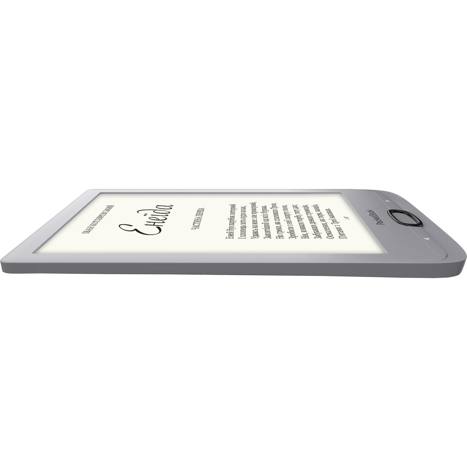 Электронная книга PocketBook 616 Basic Lux2, Silver (PB616-S-CIS) изображение 4