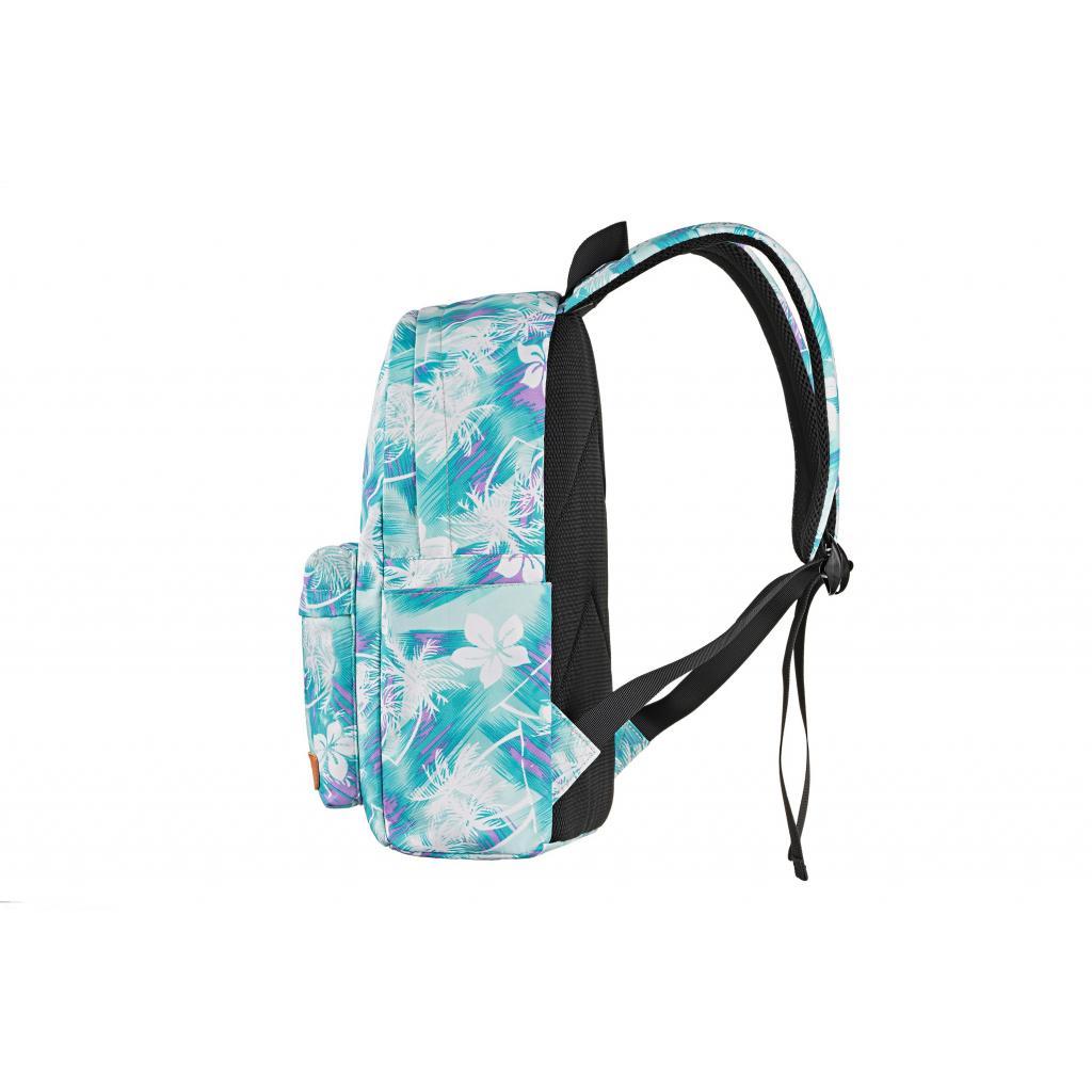 "Рюкзак для ноутбука 2E 13"" TeensPack Wildflowers, Green-blue (2E-BPT6114GB) зображення 4"