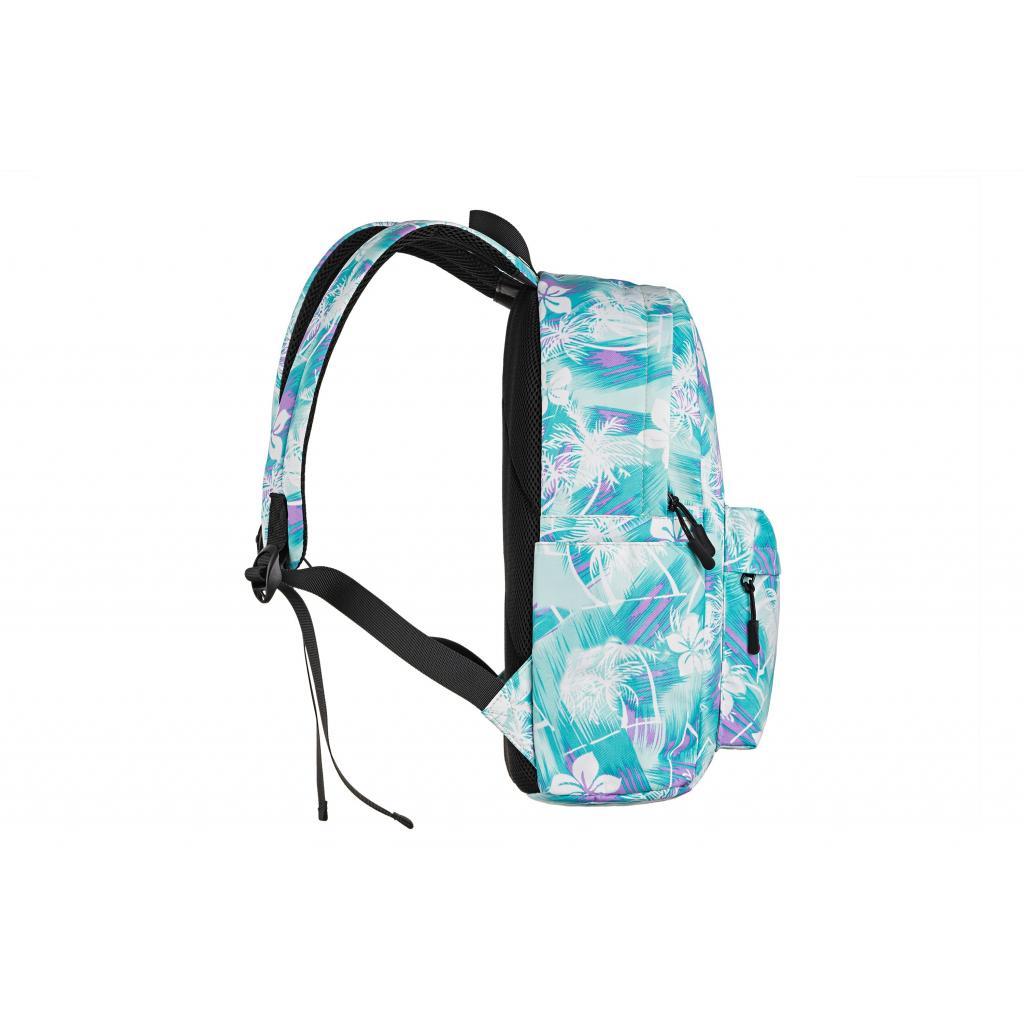 "Рюкзак для ноутбука 2E 13"" TeensPack Wildflowers, Green-blue (2E-BPT6114GB) зображення 5"