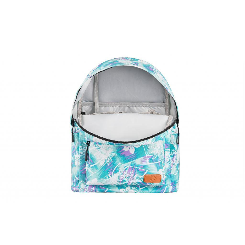 "Рюкзак для ноутбука 2E 13"" TeensPack Wildflowers, Green-blue (2E-BPT6114GB) зображення 6"