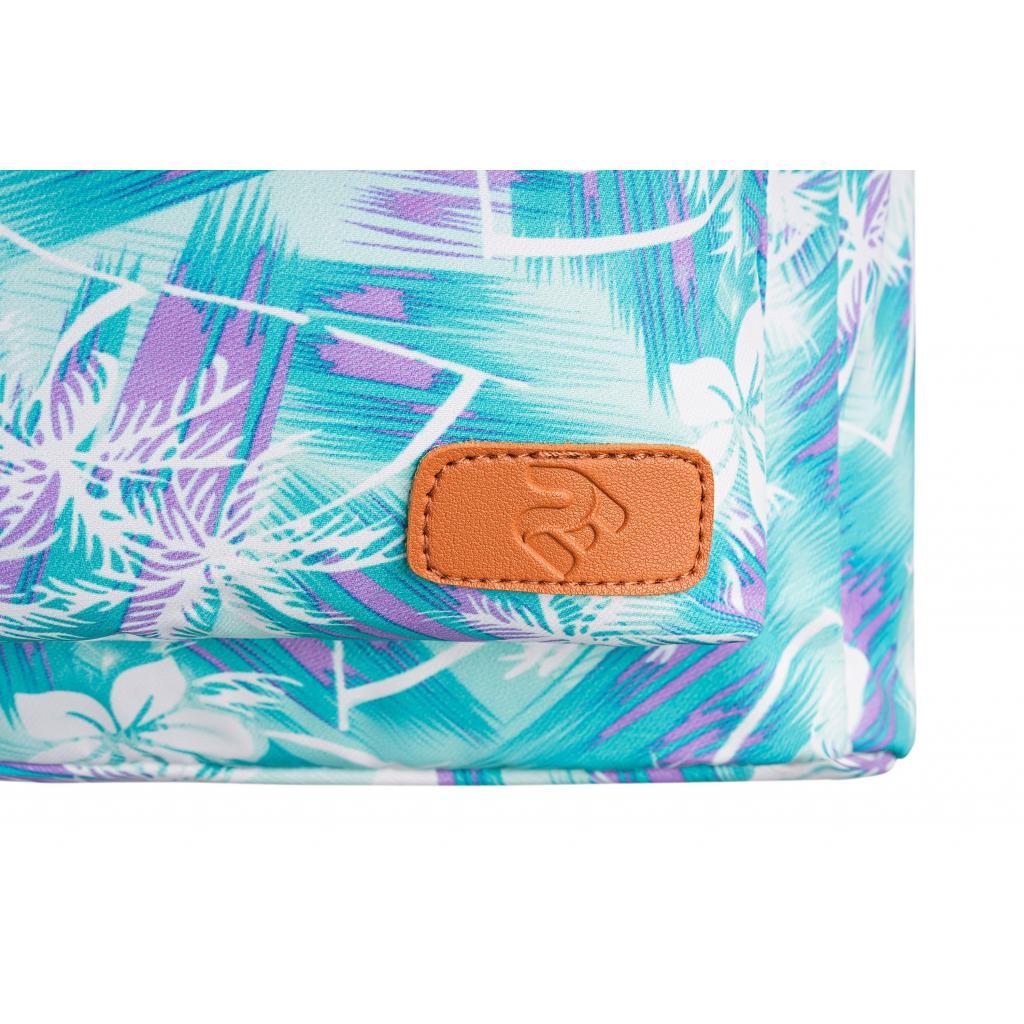 "Рюкзак для ноутбука 2E 13"" TeensPack Wildflowers, Green-blue (2E-BPT6114GB) зображення 8"