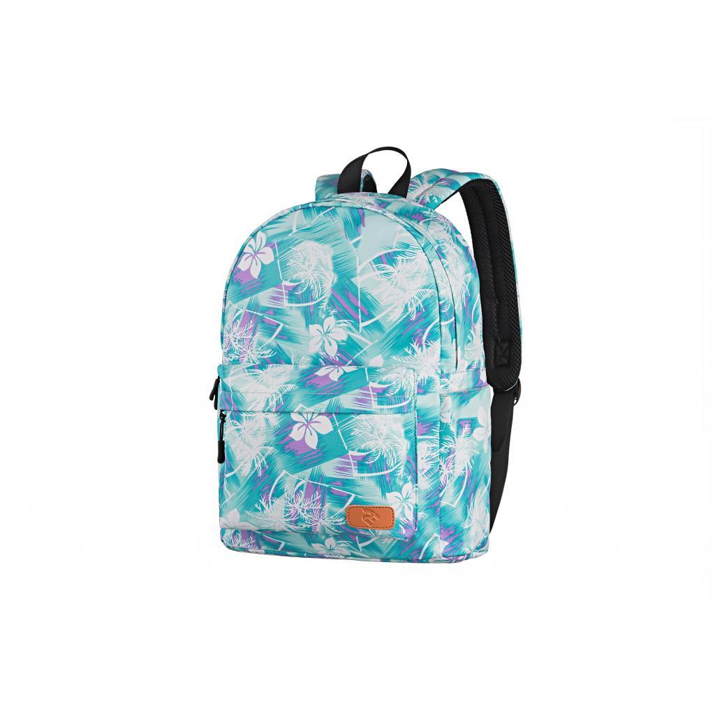 "Рюкзак для ноутбука 2E 13"" TeensPack Wildflowers, Green-blue (2E-BPT6114GB)"