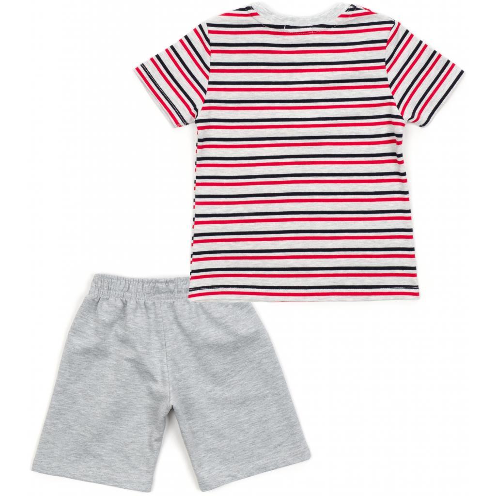 Набор детской одежды Breeze в полоску (15997-98B-red) изображение 4
