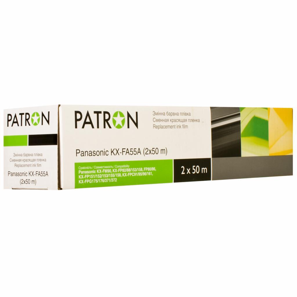 Пленка для факса PANASONIC KX-FA55A PATRON (TF-PAN-KX-FA55A-PN)