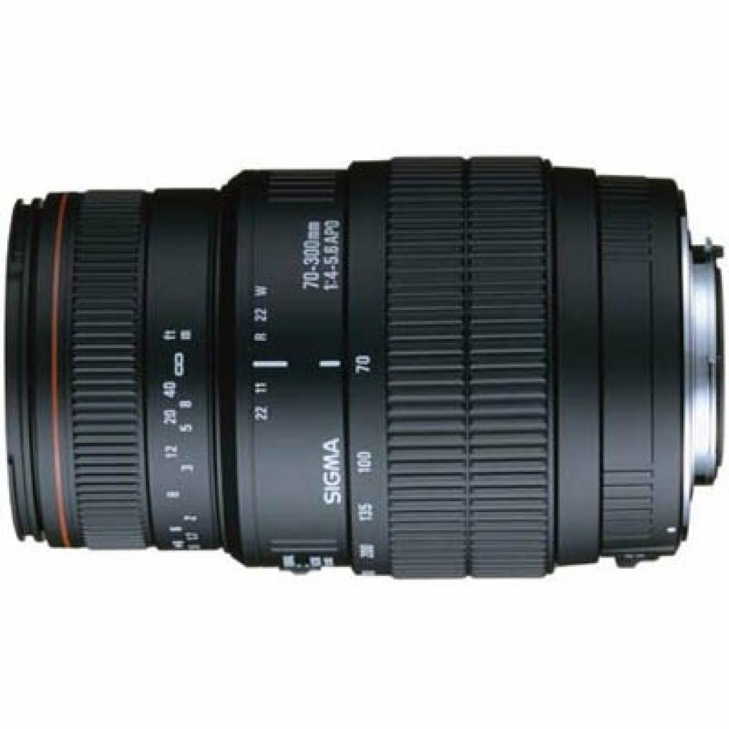 Объектив Sigma 70-300mm f/4-5.6 APO macro DG for Nikon (5A8955)