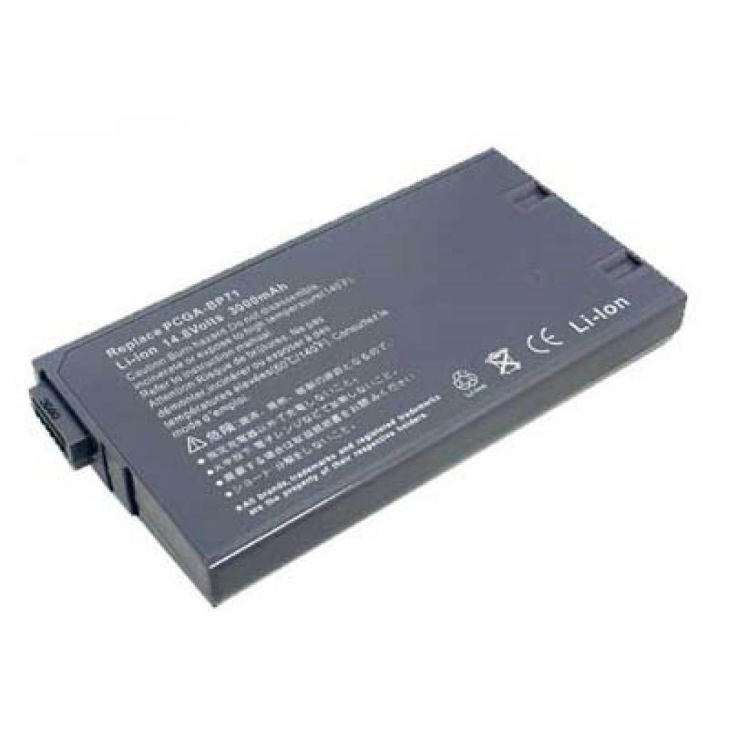 Аккумулятор для ноутбука SONY PCGA-BP1N PCG XG (PCGA-BP1N O 30)
