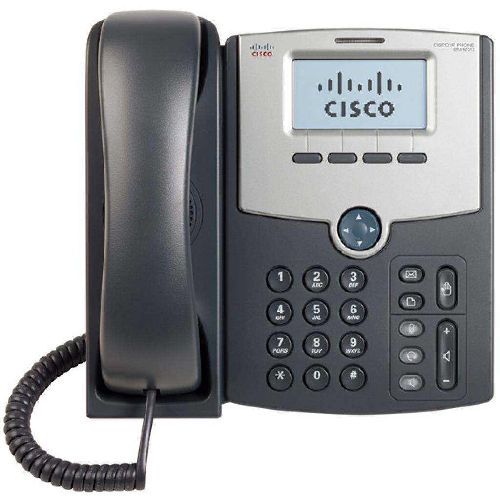 IP телефон Cisco SPA512G изображение 2