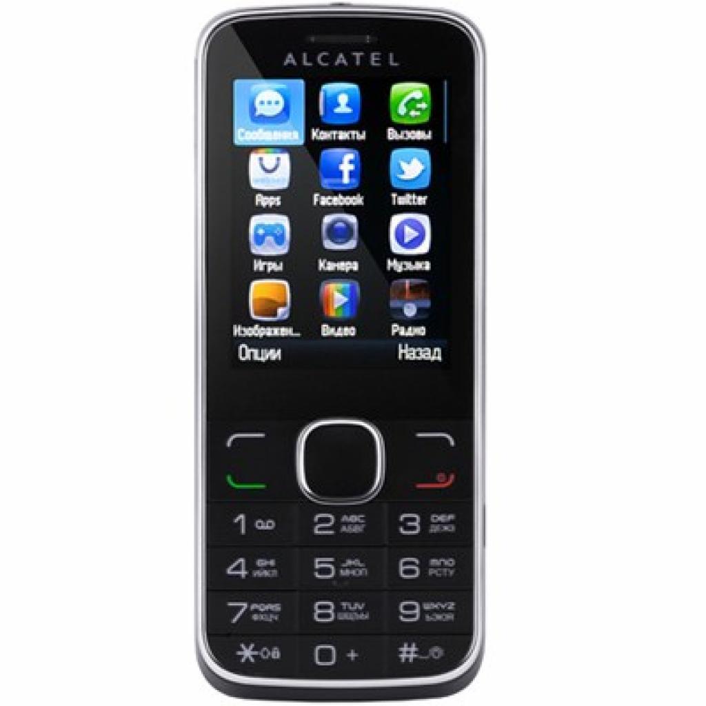 Мобильный телефон ALCATEL ONETOUCH OT-2005D Anthracite (2005D-2CALUA1)