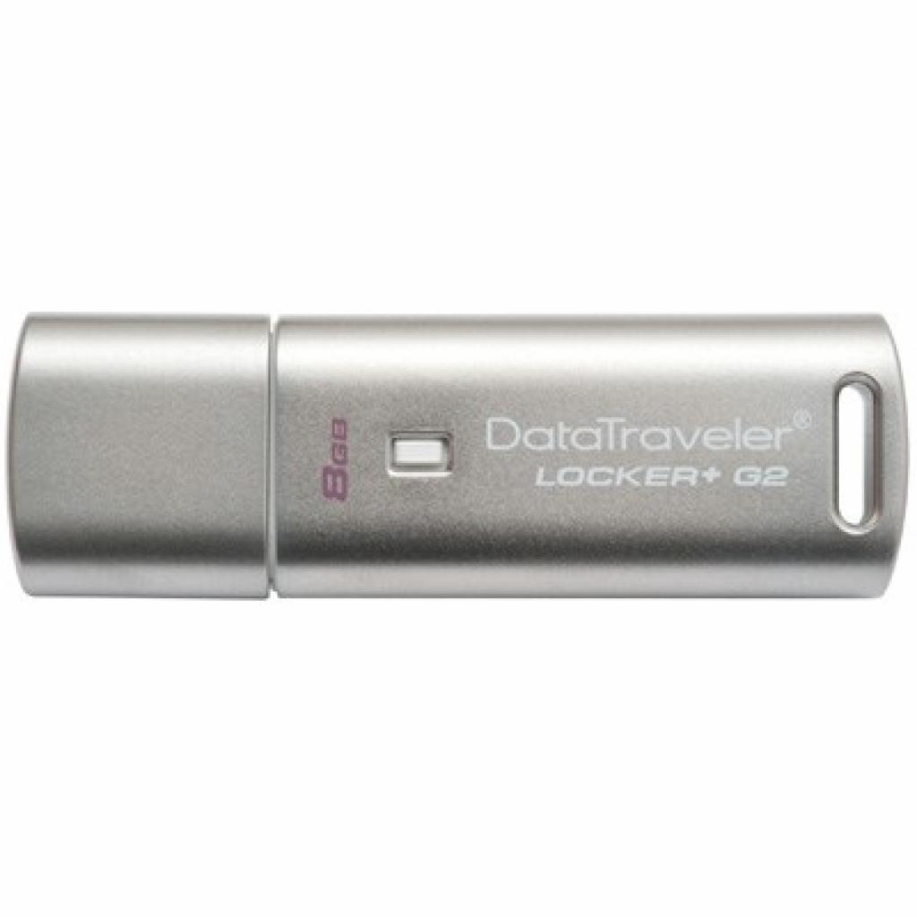 USB флеш накопитель Kingston 8Gb DataTraveler Locker+ G2 (DTLPG2/8GB)