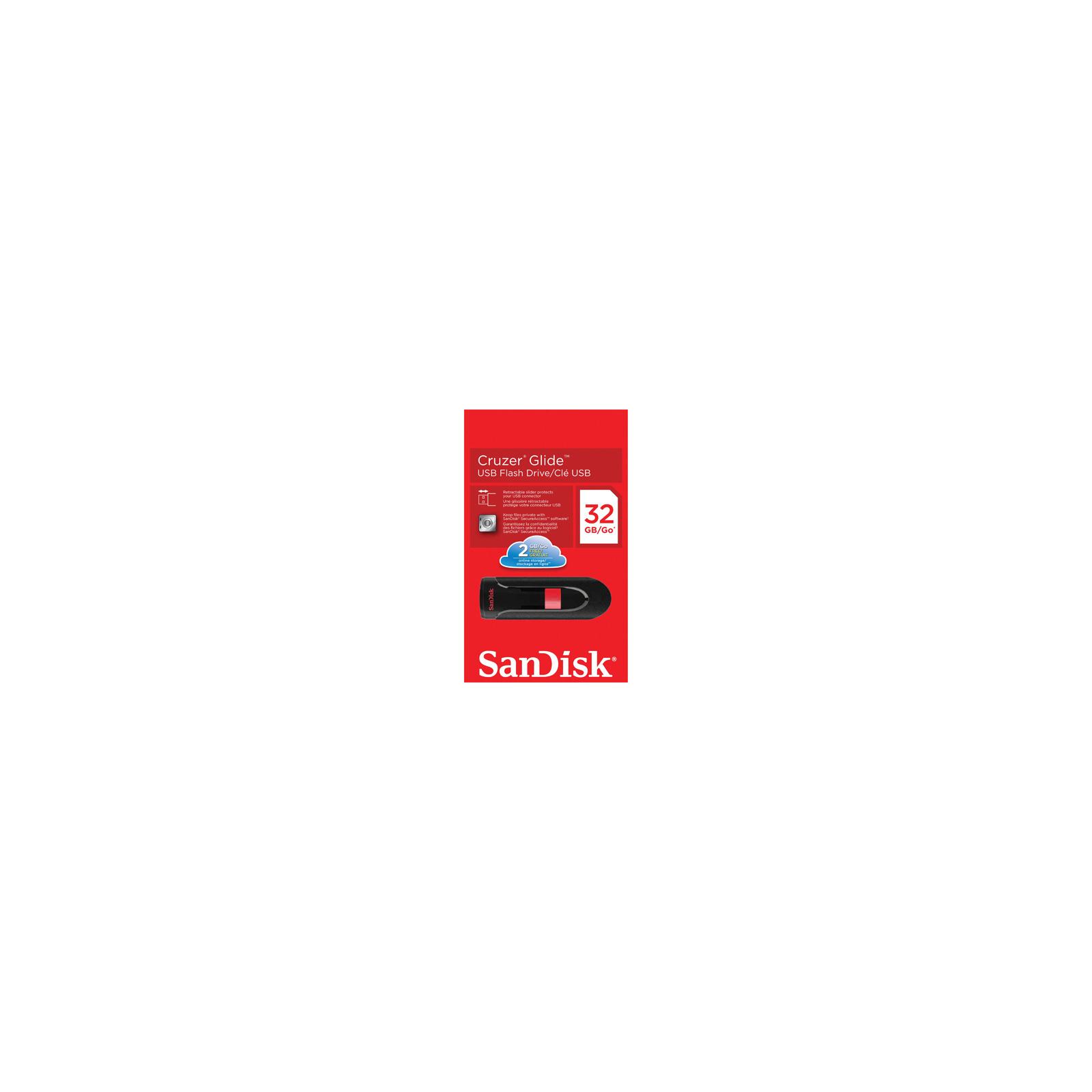 USB флеш накопитель SANDISK 32Gb Cruzer Glide (SDCZ60-032G-B35) изображение 3