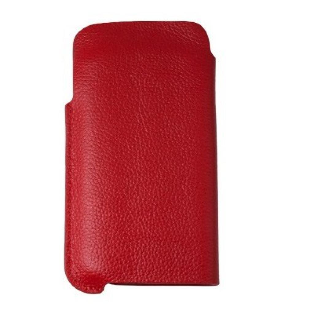 Чехол для моб. телефона Drobak для Samsung I9500 Galaxy S4 /Classic pocket Red (215249)